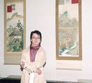 放送記者 大谷邦郎さんと観る「鉄斎の大和絵」