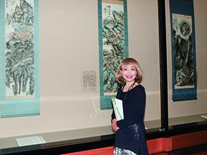 鉄斎美術館を訪ねて シャンソン歌手 須山公美子さんと観る「鉄斎―文人多癖―」