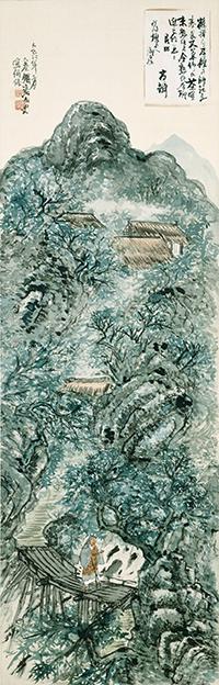 清荒神清澄寺を訪ねて 元宝塚歌劇団・鈴鹿照さんと観る「鉄斎と茶の湯」