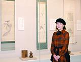 清荒神清澄寺を訪ねて 歌手・深川和美さんと観る「蓮月と鉄斎」展